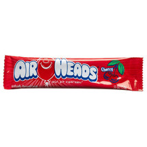 AirHeads Cherry Artificially Flavored Candy 0.55 oz Bars - Pack of 36 - $15.51