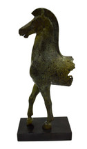 Horse front remains Ancient Greek marble based bronze statue - $399.00