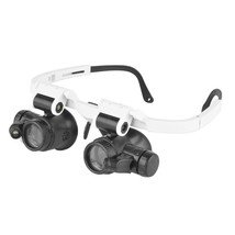 7X 10X 15X 25X LED Magnifying Glass Loupe Watch Repair Eyewear Magnifier - $20.20