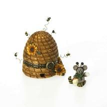 "Boyds Treasure Box ""Bumble Beeskep w/ Buzz McNibble"" #4026246-NIB- 2002 - $39.99"