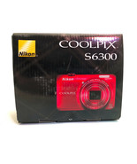 Nikon Coolpix S6300 in box for parts - $27.71