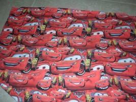 Disney pillowcase lightening McQueen Cars. red - $4.45