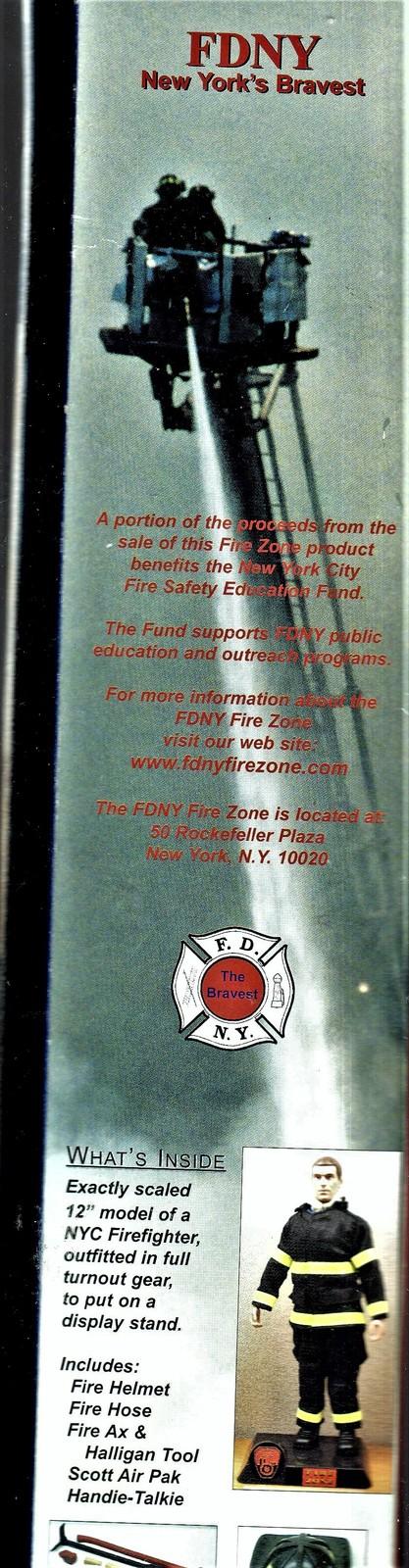 F.D.N.Y. Fireman - Fire Zone - (New Yotk's Bravest)