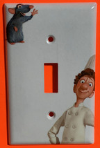 Ratatouille Light Switch Toggle Rocker Outlet duplex wall Cover Plate Home Decor image 1