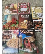 8 Cookbooks Christmas Betty Crocker's Ideals Country Woman Better Homes ... - $11.87