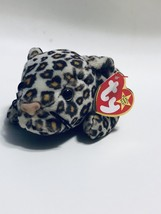 TY Beanie Baby Original Retired Freckles the Leopard Good Condition - $2.39