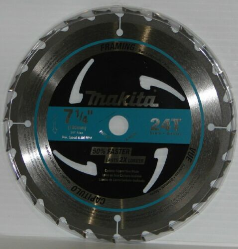 "Primary image for Makita A-94839 7-1/4"" x 24T Carbide Tipped Framing Circular Saw Blade"
