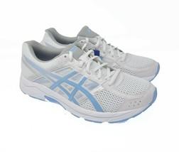 NEW! ASICS Gel Contend 4 Womens Sz 11 EU 43.5 CM 27.5 White Sports Running T765N - $44.99