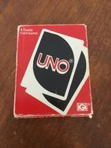 Vintage 1979 Uno Card Game 99% Complete International Games - $12.47