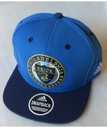 Adidas MLS Philadelphia Union Soccer Hat Cap Snap Back Flat Brim New - $20.00