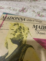 MADONNA ORIGINAL USED RECORD BULGARIAN PRESS LP LIKE A VIRGIN ONLY ONE!!... - £39.70 GBP