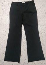 Gap Dress Pants ~ Sz 4 ~ Grey ~ Boot Cut ~Favorite Trouser~ Stretch~ Pin... - $18.80