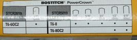 Bostitch T660C2 Heavy Duty Outward Clinch Tacker Power Crown Stapler image 6