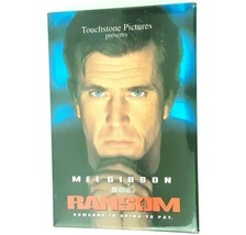 Vintage 1996 Ransom Movie Pin Button Staring Mel Gibson Rectangle 3 x 2 ... - $9.99