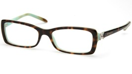 Tiffany & Co. Tf 2091-B 8134 Havana Blue Eyeglasses Frame 53-16-140 B30 Italy - $94.04