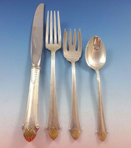 Edgemont Gold by Gorham Sterling Silver Flatware Set 8 Service 33 Pieces Dinner - $2,995.00