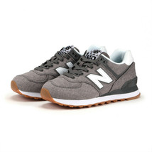 New Balance 574 Women's Casual Shoes Fashion Sneakers Sports Gray NWT WL574SKG - $77.19