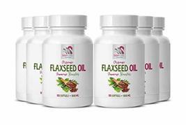 Flaxseed Oil Omega 3 - Flaxseed Oil Organic 1000mg - Reduce Menopausal S... - $84.23