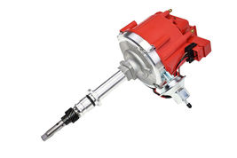 Chevy Late Inline 6 Cylinder HEI  Distributor 230 250 292 Red 65K Coil image 6