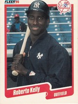 1990 Fleer Roberto Kelly - $0.00