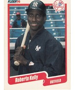 1990 Fleer Roberto Kelly - $0.00