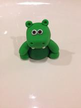 Hippo BabyTv inspired fondant cake topper - $20.00