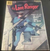 1959 Dell Comics The lone ranger #129 Clayton Moore Photo cover  Nice Copy - $16.25