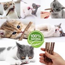 Only 0.5$/count 25 Pcs Cat Snacks Matatabi Chew Catnip Stick - Shipping ... - $14.64