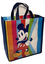 Disney MICKEY MOUSE Reuseable Shopping Tote GIFT BAG Rainbow I Combine S... - $3.63
