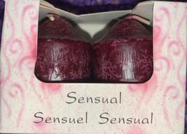 Mood Makers Aromatherapy Candles Sensual Jasmine & Honeysuckle - $19.78