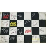 2004 Dover International Speedway Autographed Racing Flag Signed by 40+ ... - $279.57