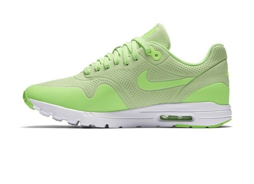 Nike Women's Air Max 1 Ultra Moire Shoes NEW AUTHENTIC Ghost Green 704995-302 image 2