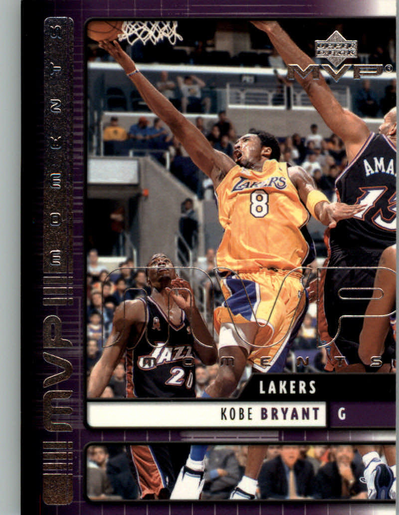 Primary image for 2002-03 Upper Deck MVP Moments #7 Kobe Bryant NM-MT Los Angeles Lakers