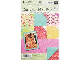K&Company Berry Sweet Designer Mat Pad Cardstock #626638
