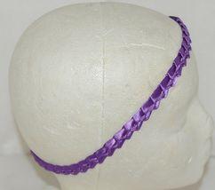 Pan Handle Babies Braid Bow Band Size Teen Item Number 1301B Purple image 6