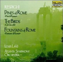 Respighi: Pines of Rome, The Birds & Fountains of Rome (CD 1985) 0894080... - $7.51