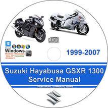 Suzuki Hayabusa GSXR 1300 1999-2007 Factory Workshop Service Repair Manual - $15.00