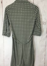 Express Dress Button Down Sz 5/6 3/4 Collared Belted 3/4 Sleeve Career image 8