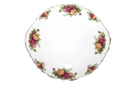 Royal Albert Handled Cake Plate Old Country Roses NEW WITH TAG - $39.59