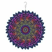 windmas - 3D Mandala Wind Spinner Decorations – Laser Cut Metal Mandalas Art, St