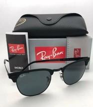 Ray-Ban Lunettes de Soleil Clubmaster Métal RB 3716 186/R5 Mat Noir-Noir... - $169.65