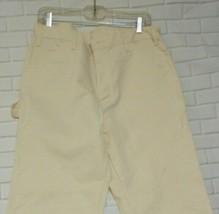 Dickies White  34x30 Regular Straight Cotton Pants - $18.56