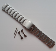 Genuine Replacement Watch Band 22mm Stainless Steel Bracelet Casio EF-33... - $40.60