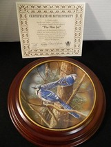 1985 The Blue Jay Knowles 2nd Edition Birds Of Your Garden W Custom Fram... - $23.33