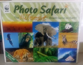 Photo Safari The Wildest Board Game on Earth World Wildlife Found WWF - $19.59