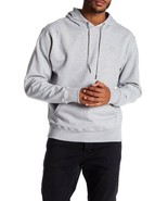 Champion Power Blend Fleece Pullover Solid Hoodie Men's Medium Oxford Gray - $19.80