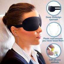 Travel Pillow - Inflatable Foot Rest Pillow with Airplane Travel Accessories image 5