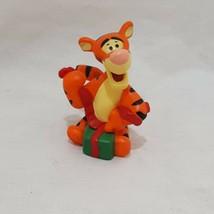 "Tigger Disney Merry Miniatures Hallmark Figurine Winnie the Pooh Christmas 1"" - $9.99"