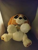"Rescue Pets Wake Me Up Kids Alarm Clock Plush Animated Puppy Dog 10""  - $17.25"