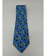 """Seal of the State of Texas Mens Neck Tie 100% Silk 57"""" x 3.75"""" VTG Ralph... - $29.69"""